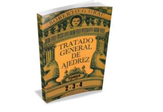 📚TRATADO GENERAL DE AJEDREZ   Tomos 2-3-4 (Tablero visor)